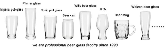 Completely Dishwasher Safe IPA Drinking Glass For India Pale Ale Beer 2