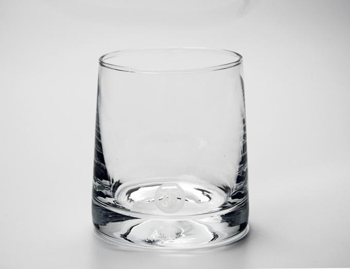 Classic Whiskey Promotional Drinking Glasses With Printing / Sandblasting Logo 0