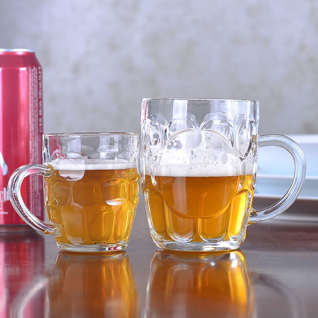Dimple Design Beer Glasses 300ml 10oz For Home / Restaurant / Hotel