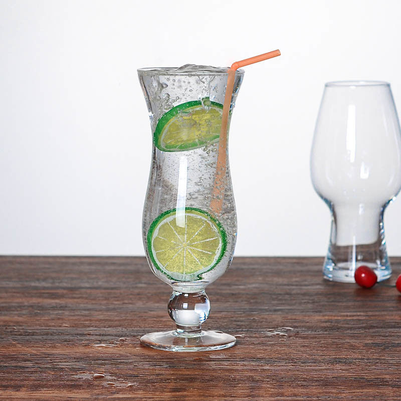15oz Hurricane Cocktail Glasses With Chip Resistant Rim And Sturdy Footed Base supplier